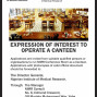 Expression of Interest to operation a canteen in an organization