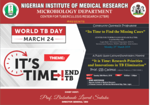 The Nigerian Institute Of Medical Research – Research For National